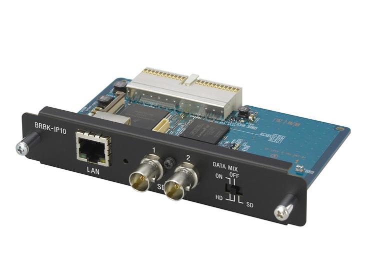 リモートカメラBRC-H900、BRC-Z330用 IP制御カード BRBK-IP10