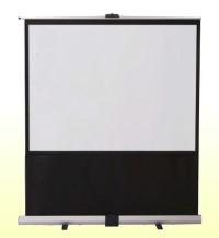 自立式スクリーン IZUMI パンタグラフ式フロアタイプスクリーン 100インチ(16:10) RS-100V