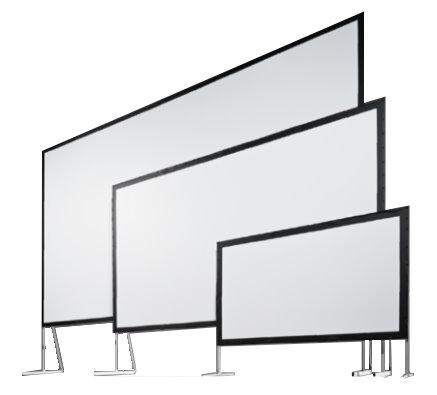 組立て式大型スクリーン スタンフル モノクリップ32 MBCR-240 (4:3)240インチ