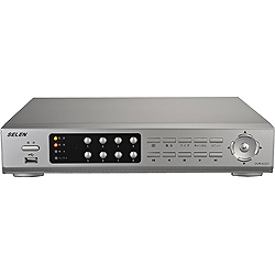 監視用ハードディスクレコーダー セレン DVR-S320(1TB×2HD、8入力)