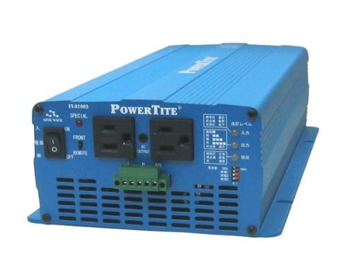 高性能サイン波インバーター 未来舎 FI-S1003(1000W)