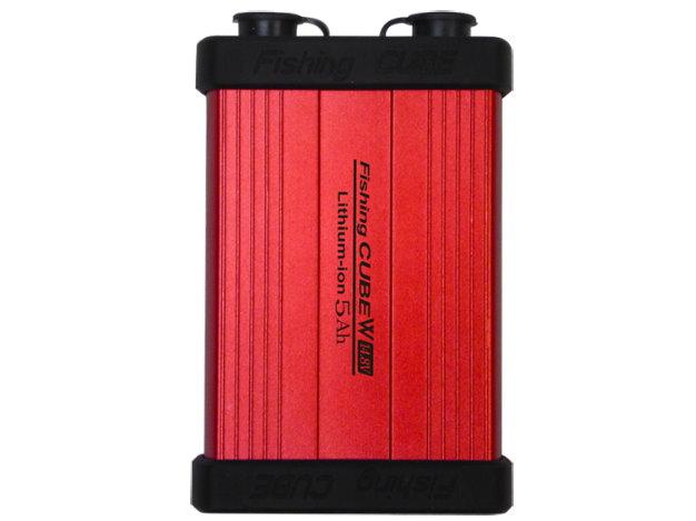 リチウムイオンバッテリー Fishing CUBE W14.8V 5Ah 釣り、携帯やスマホの充電、計画停電にも役立ちます。