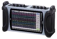 データアクイジション装置 オムニライト2  RM1101 温度・電圧の4チャネル、4点のロジック入力