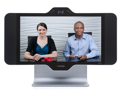 高画質フルハイビジョン対応!テレビ会議システム ポリコム HDX4500