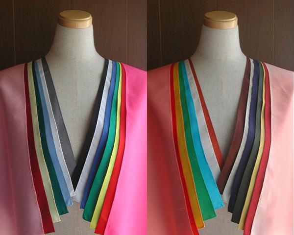 縁縫製済パーソナルカラードレープテスト診断用28色セットブロードMサイズ