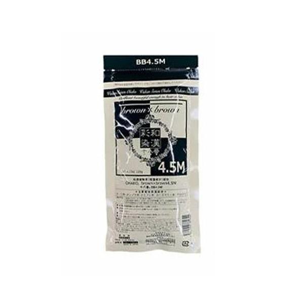 和漢彩染 ヘアカラー サロン専売品 毎週更新 送料無料 グランデックス ノンアルカリカラー剤 十八番 驚きの値段 BB4.5M 120g