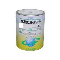 【水性ビルデック】赤 4kg ツヤ消し DNT 大日本塗料株式会社