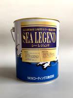 ■まとめ買いがお得です!■【シーレジェンド】4kg×4缶¥55,000- ブルー:レッド 外板船底 FRP船 アルミ船用船底塗料