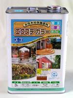 水性木材保護塗料【eLf エクステカラー】屋外用 16L 各色