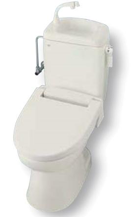 LIXIL/INAX 洋風簡易水洗便器トイレーナR 手洗付 ハイパーキラミック 便座と止水栓は別途  メーカー直送便にてお届けいたします。北海道、沖縄及び離島は、別途送料がかかります。