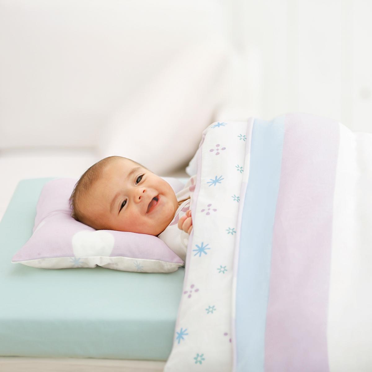 ヨーロピアンパステル14点セット《コンビミニ》ギフト ベビー布団 出産祝い Combi mini 新生児 ベビーふとんセット 男の子 女の子_Pup
