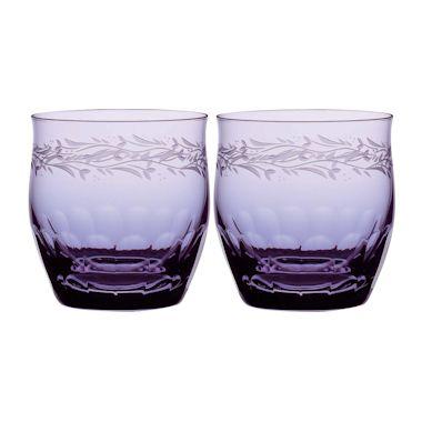 【送料無料】ボヘミアングラス プリマドンナ オールドグラス2個セット