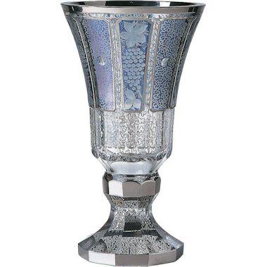 【送料無料】ボヘミアングラス モドレー 花瓶
