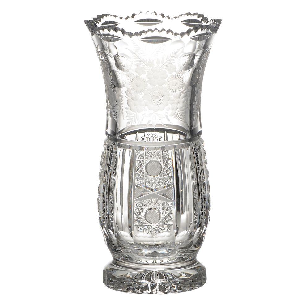 【送料無料】ボヘミアングラス ボヘミアンガーデン 花瓶