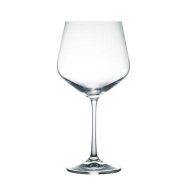 返品送料無料 シャープな直線が美しくエレガント ボヘミア 贈り物 クリスタレックス シエスタ ワイングラス ブルゴーニュ 6個セット