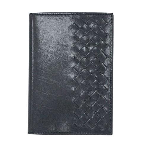 ボッテガヴェネタ 財布 402651-1860 BOTTEGA VENETA ボッテガ メンズ 二つ折り 札入れ イントレッチャート シャイニーカーフ アルドワーズ アウトレット