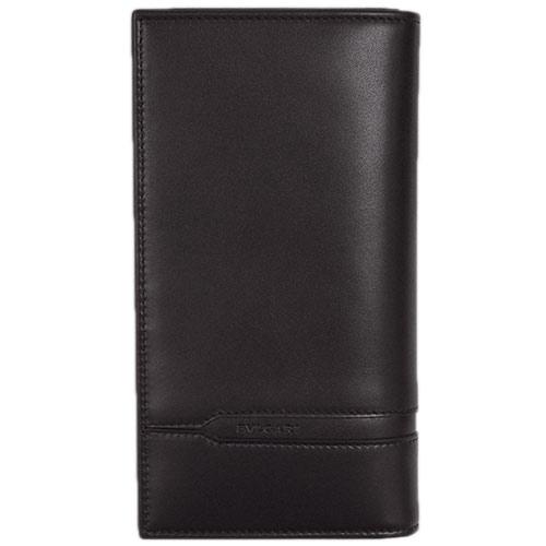 ブルガリ 財布 35376 メンズ ファスナー長札 7枚カード BVLGARIロゴ カーフ モカブラウン あす楽対応