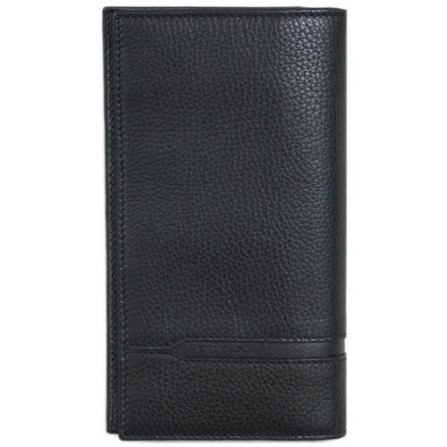 【P11倍以上】ブルガリ 財布 36966 メンズ ファスナー長札 7枚カード BVLGARIロゴ グレインカーフ ブラック あす楽対応 キャッシュレスで5%還元!【要エントリー】【2020/5/1限り】