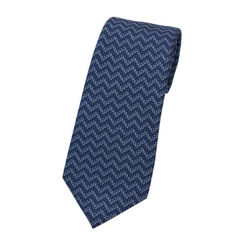ブルガリ ネクタイ 242229 BVLGARI メンズ ジャガード デザイン ハート ネイビー/ベビーブルー/ブラック 紙袋付き あす楽対応