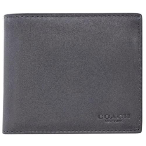 コーチ 財布 20956-GPH COACH メンズ 二つ折り 札入れ 取り外しカードケース 3-IN-1 ウォレット グラファイト アウトレット わけありセール あす楽対応