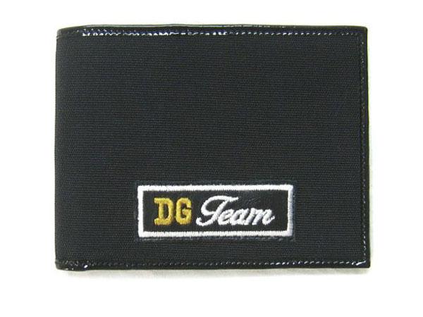 ドルチェ&ガッバーナ 財布 BP100162 メンズ 二つ折り札入れ DGチーム ナイロンブラック