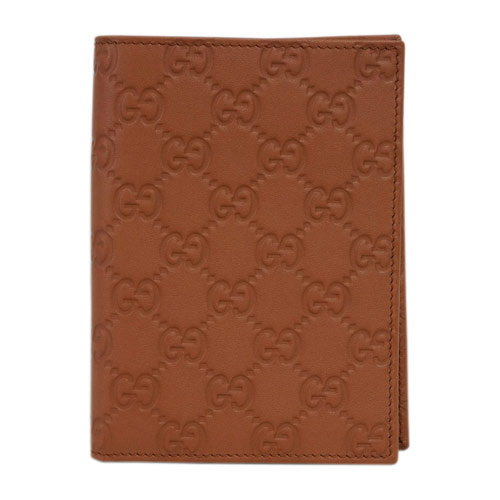 グッチ 財布 346079-7614 メンズ パスケース 二つ折り 札入れ カードケース グッチッシマ テラコッタ アウトレット あす楽対応