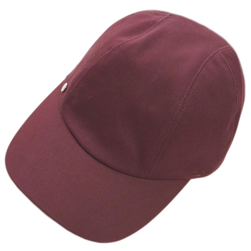 エルメス 帽子 H191005N33 HERMES ソルド レディース キャスケット キャップ デイヴィス BORDEAUX ボルドー