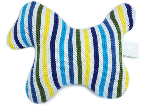 エルメス ベビー おもちゃ H102422M02 ソルド ぬいぐるみ PM Zebra Colorama コットン ブルー あす楽対応