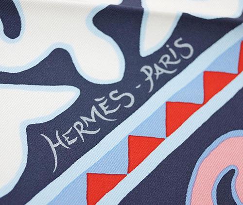エルメス スカーフ H003067S05 HERMES ソルド カレ ツイル シルク100% 90CMS APPALOOSA DES STEPPES ホワイト/バイオレット/ローズピンク 31242 あす楽対応