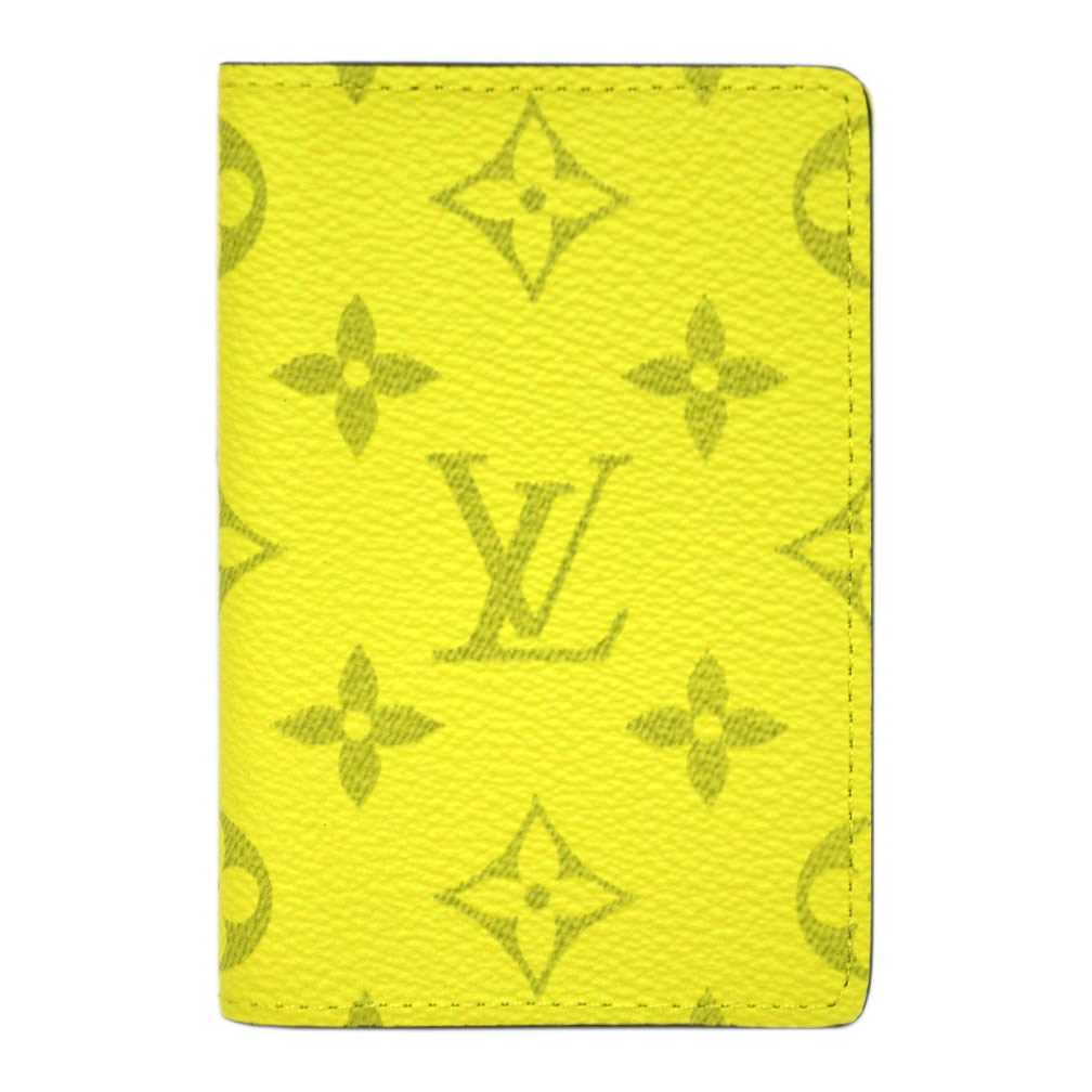 ルイヴィトン カードケース M30318 LOUIS VUITTON ヴィトン LV モノグラム+タイガ 名刺入れ LV オーガナイザー・ドゥ ポッシュ ジョーヌ 専用箱付き