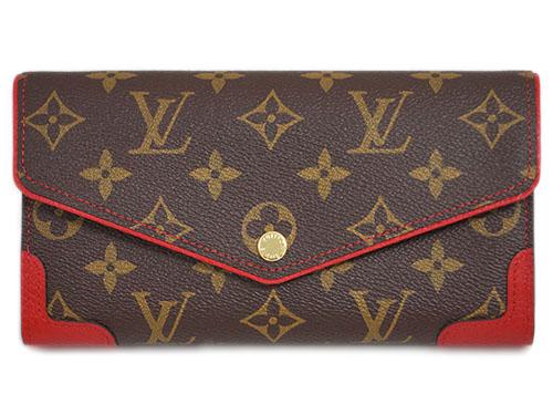ルイヴィトン 財布 M61184 LOUIS VUITTON ヴィトン LV モノグラム ファスナー長札 ポルトフォイユ・サラ レティーロ スリーズ 607 あす楽対応