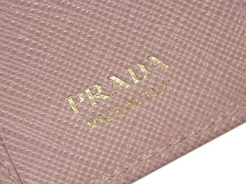 0745ee506b46 ... プラダキーケース1PG2226連キーケースサッフィアーノリボンORCHIDEAオルキデラカーフライトピンクアウトレット プラダバッグ プラダ レディース財布 ...