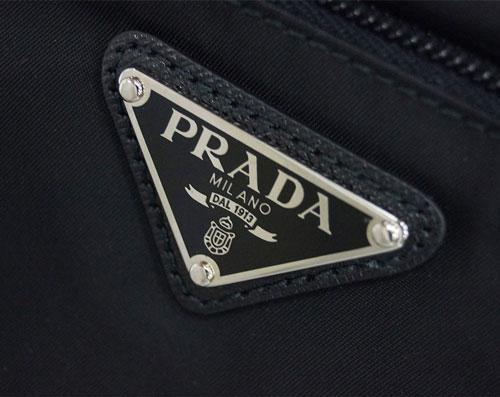 97476f1ea14e PRADA プラダ バッグ 1BH978 ショルダーバッグ マチなし VELA ネロ ナイロンブラック シルバー金具 アウトレット NERO- ショルダーバッグ・メッセンジャーバッグ