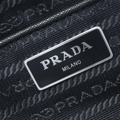 PRADA プラダ バッグ 1BB903 ボストンバッグ 29x22 チェーンストラップ TESSUTO IMPUNTU NERO キルティング ナイロンブラック SV金具 アウトレット あす楽対応