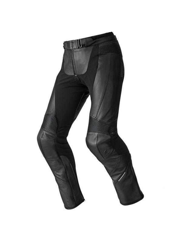 【あす楽】RSタイチ(アールエスタイチ) バイクパンツ ブラック (サイズ:LW/50) トレーサー レザーパンツ RSY830【メンズ】【膝CEプロテクター】【対応ジャケットと連結可】