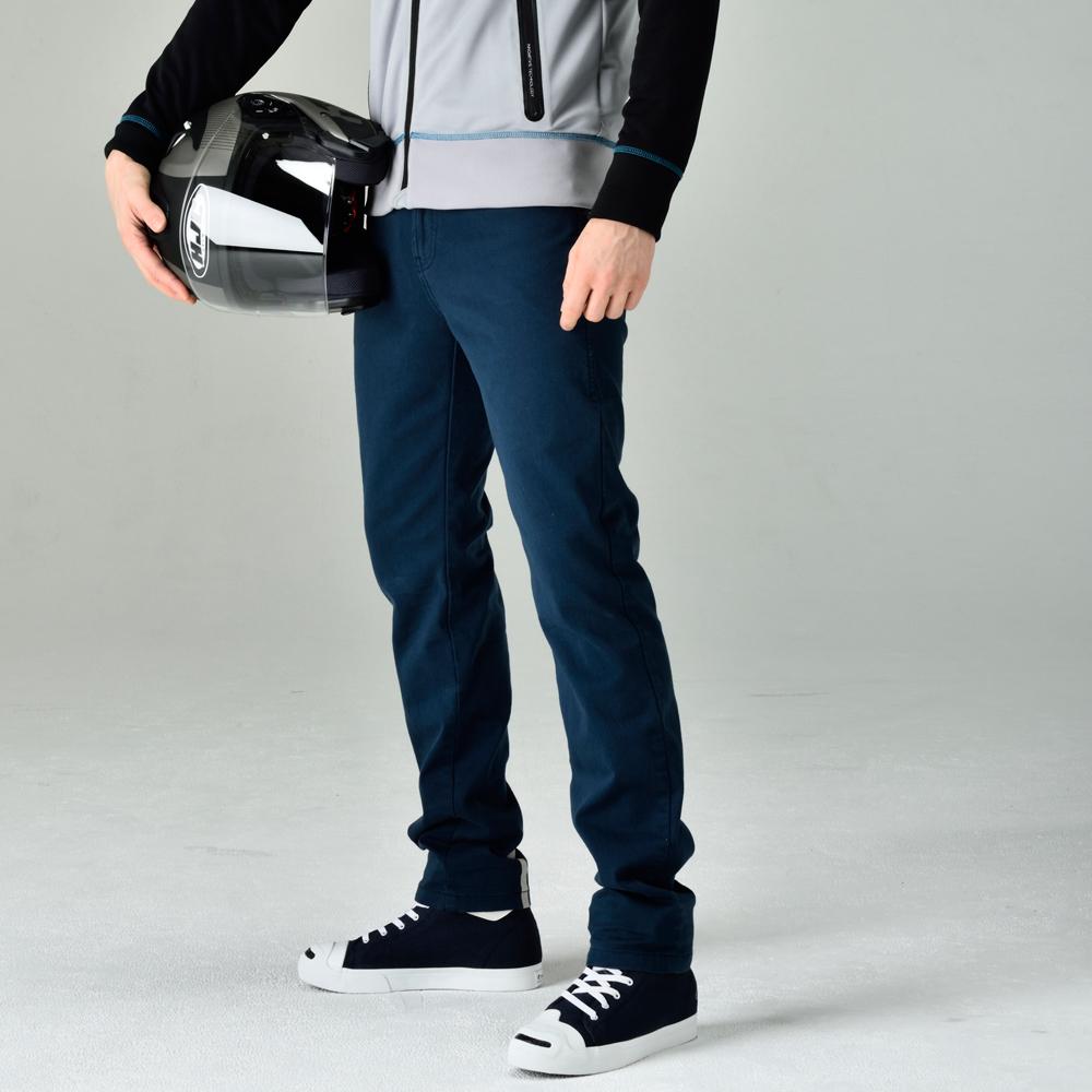 【メンズ】RSY252【ネイビー】【サイズ32】コーデュラ ストレッチ パンツ【ストレッチ】【膝プロテクター】【コンビニ受取対応商品】