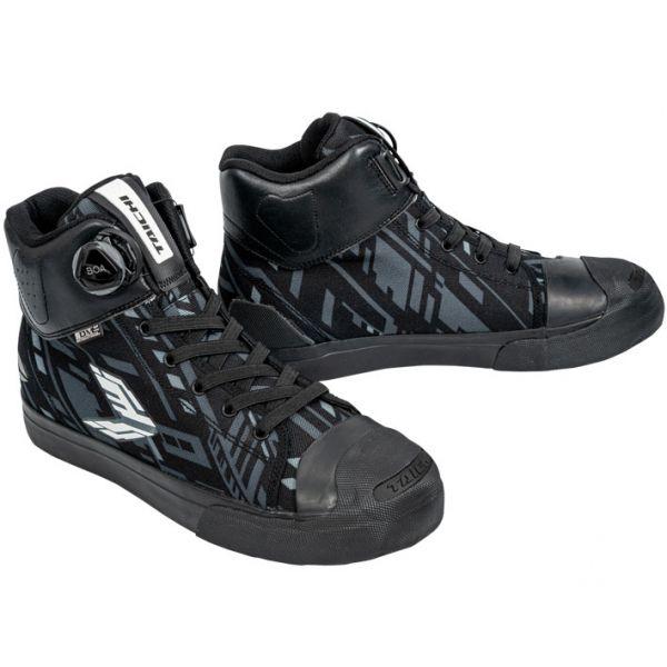 2021SS あす楽 至上 アールエスタイチ 011DRYMASTER-FITフープシューズ バイク靴 通年 防水 RSS011 シブヤブラック 26.0cm プレゼント