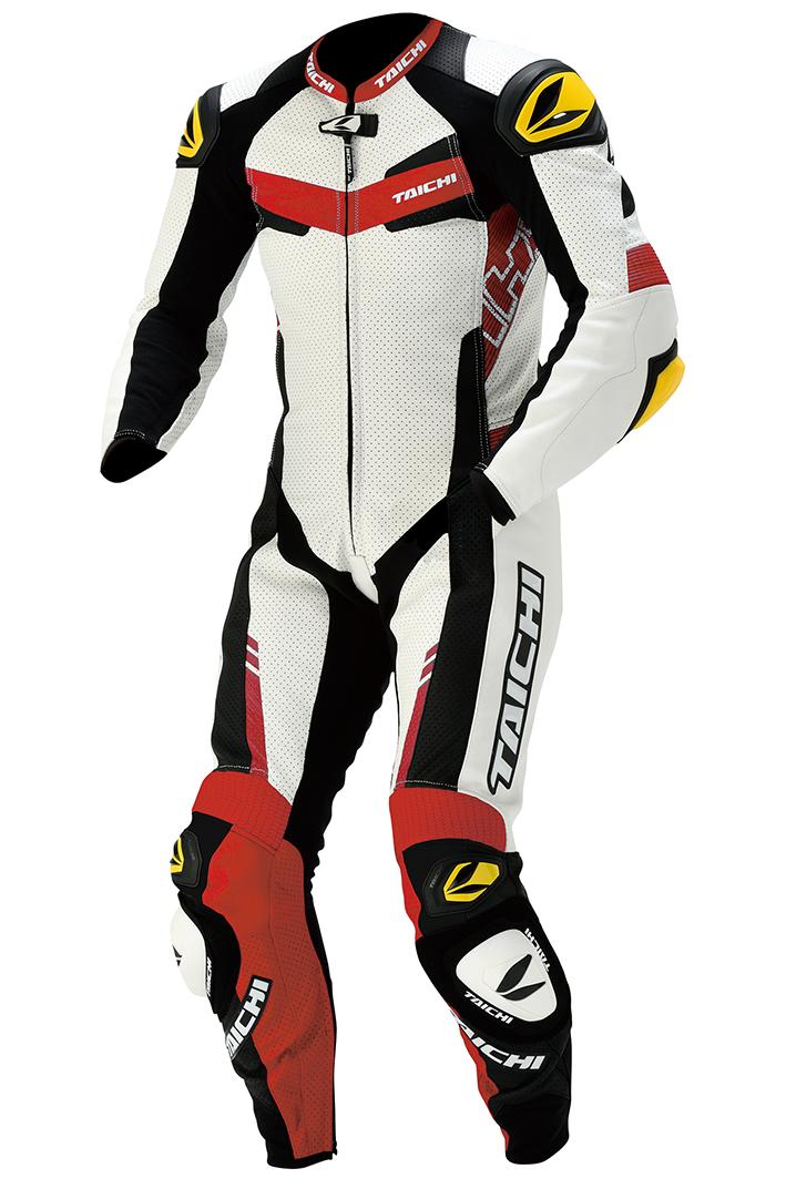 【メンズ】NXL305【レッド】【S/48サイズ】GP-WRX R305 RACING SUIT【T.R.A.D.】【TIPS】【肩・肘・膝CEプロテクター装備】