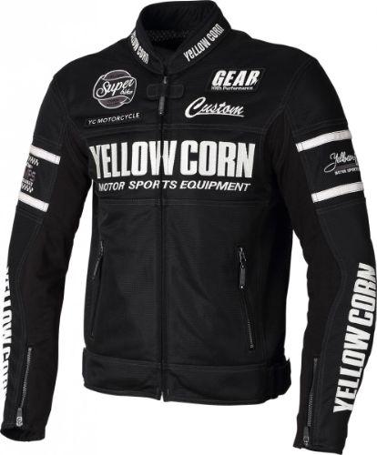 SEAL限定商品 2021SS あす楽 イエローコーン YeLLOWCORN メッシュジャケット バイク 春夏 BB-1104 3Lサイズ 2020モデル メンズ ブラック
