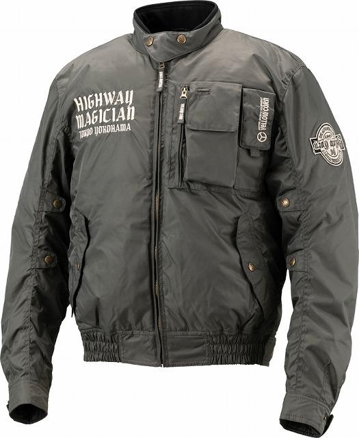 【あす楽】【メンズ】YB8300【タングステン】【Lサイズ】ウィンタージャケット イエローコーン【防寒】【プロテクター別売り】