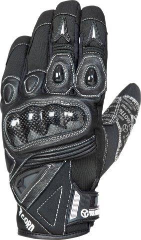 2020FW あす楽 イエローコーン アウトレット YeLLOW CORN ウィンターグローブ Mサイズ YG-308W ブラック 高品質新品 バイク メンズ グローブ