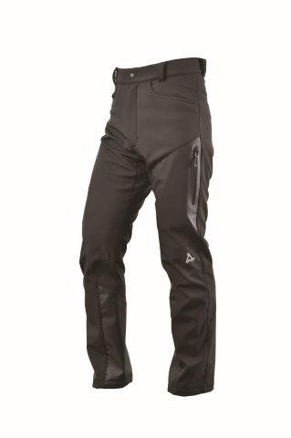 【あす楽】アーバニズム(Urbanism) バイク パンツ アーバンソフトシェルパンツ ブラック L UNP-123【メンズ】【防風】【ストレッチ】【膝・腰プロテクター標準装備】