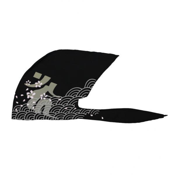 弐黒堂 バンダナキャップ 正規逆輸入品 舞桜 着後レビューで 送料無料 黒 FREE 灰 WBKN-474