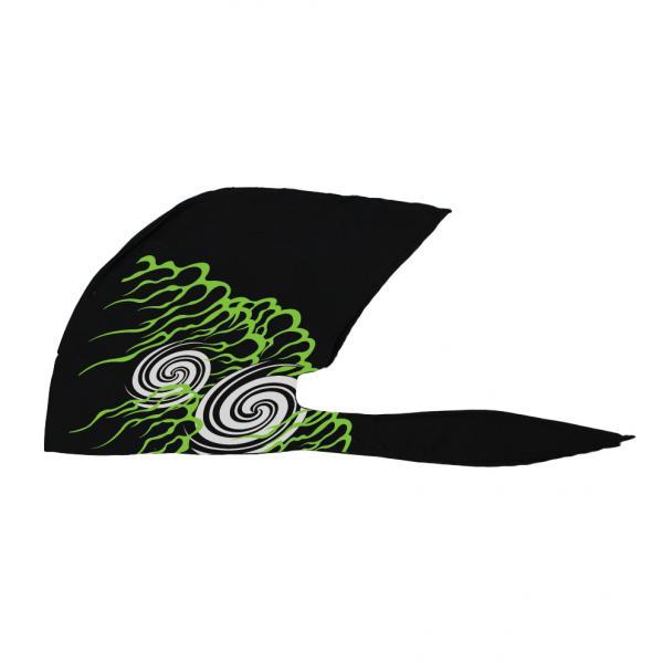 WBKN-475 黒 緑 FREEサイズ 不知火 弐黒堂 セール セール バンダナキャップ