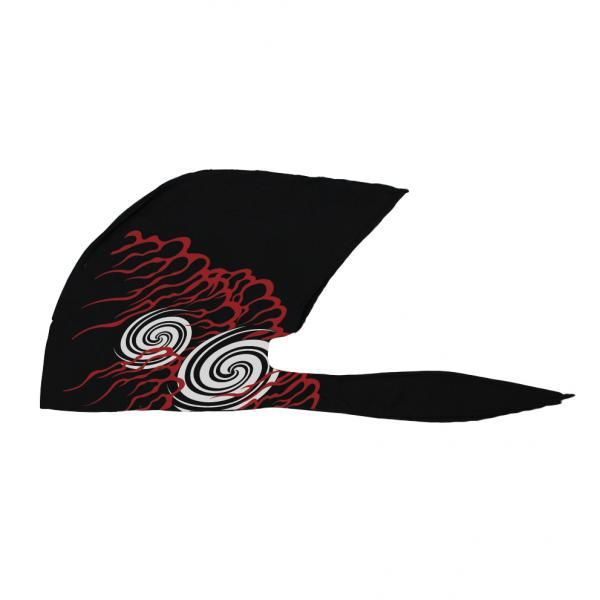弐黒堂 バンダナキャップ 大幅にプライスダウン 不知火 高級 黒 WBKN-475 FREE 紅