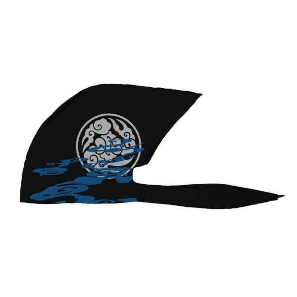 新作 人気 弐黒堂 バンダナキャップ 雲海 黒 WBKN-476 FREE 賜物 灰