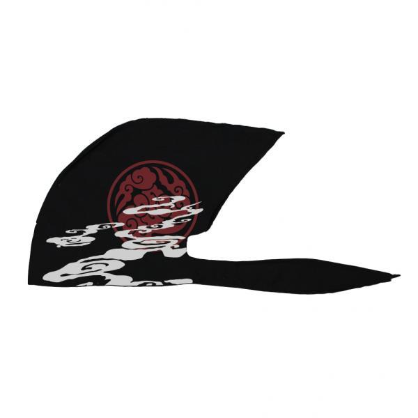 物品 弐黒堂 バンダナキャップ 雲海 爆買いセール 黒 WBKN-476 紅 FREE