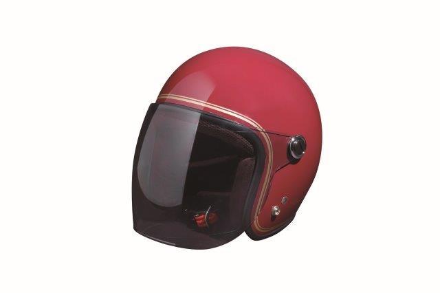 """ロッソスタイルラボ/RossoStyjeLab ROSSOジェットヘルメット""""CLASSIC"""" レディース ロッソレッド F(55-57cm)サイズ ROH-506"""