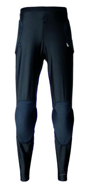 PA-444【ブラック】【XLサイズ】PORONRプロテクトパンツ パワーエイジ【腰・尾てい骨・膝】【PORONXRD】【インナーパンツ】