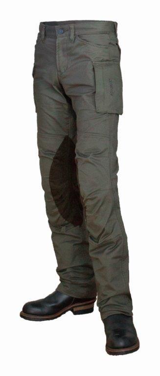 【メンズ】PP-9201【オリーブ】【Lサイズ】コットンカーゴパンツ パワーエイジ【ストレッチ】【膝・腰プロテクター標準装備】